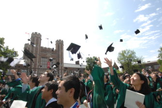 Commencement of WUSTL.
